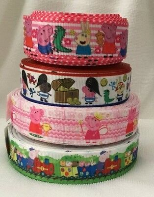 Pig Grosgrain Ribbons- All Designs sold by 1m & 2m - see listing for details
