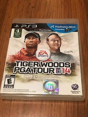 Tiger Woods PGA Tour 14 (Sony PlayStation 3, 2013) Missing Manuals!