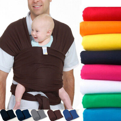 Infant Newborn Kid Baby Carrier Sling Swaddle Wrap Cotton Breastfeeding3-35 lbs