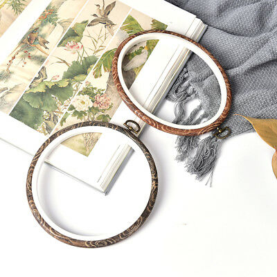 Embroidery Hoop Circle Round Frame Art Craft DIY Cross Stitch 、Pop