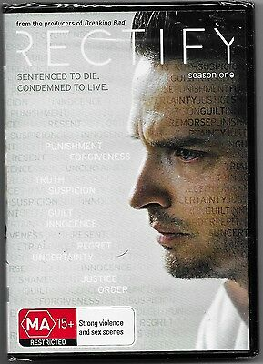 Rectify : Season 1 (DVD, 2014, 2-Disc Set)New (Aden Young)Region 4 Free Post