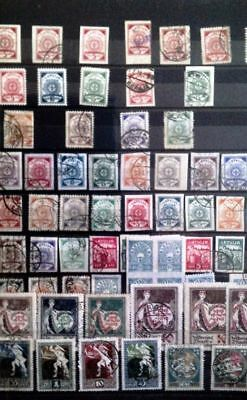 LATVIA, beautiful collection, 1918 - 2014, stamps, blocks, letters, etc.