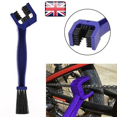 Motorcycle Bike Motocross Chain Wheel Cleaning Brush Wash Dirt Cleaner Tool