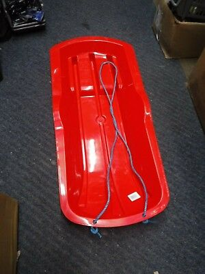 KIDS SPEED SLEDGE, PLASTIC SNOW, SLEIGH, WITH ROPE, BOB KAT, collection only