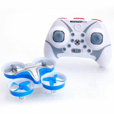 BoldClash BWHOOP B-03 Altitude Hold 716 Motor EDF RC Quadcopter Blue