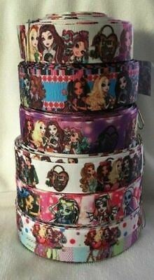Monster High & Ever After Grosgrain Ribbons all designs sold by 1m & 2m- Hair
