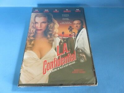 """L.A. Confidential"" w/Kevin Spacey, Russell Crowe & Kim Bassinger; Crime/DVD/New"