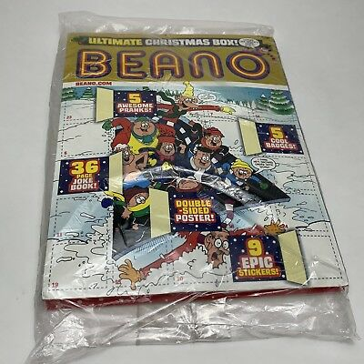 Beano Comic Magazine - 8th December 2018 Ultimate Christmas Box Special + Extras