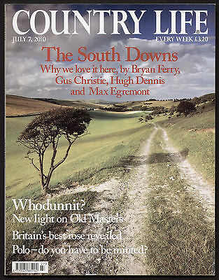 Country Life Jul 2010 SOUTH DOWNS ARUNDEL CASTLE SUSSEX COWDRAY PARK RHS