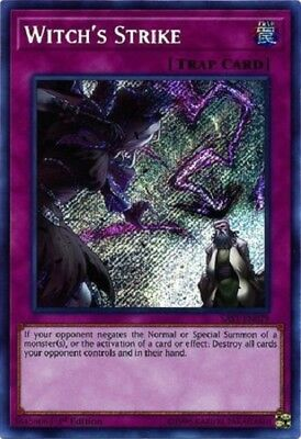 Witch's Strike - SAST-EN079 - Secret Rare 1st Edition yugioh konami