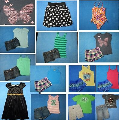 19 piece lot of nice clean Spring Summer girls clothing size 10 Everyday 3s17
