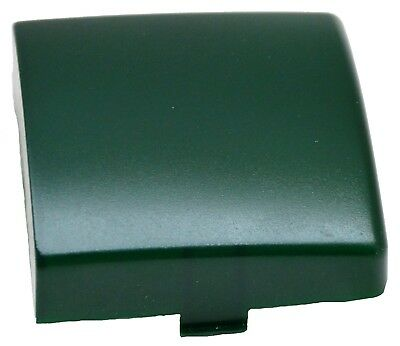 """dome light lens square green plastic 3"""" two tab Kenworth 1995-2000"""