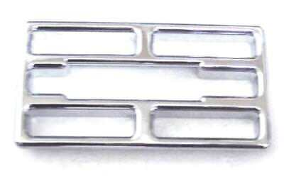 A/C Heater vent insert center small chrome plastic for Kenworth 2002+