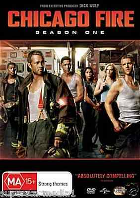 Chicago Fire : Season 1 (DVD, 6-Disc Set) NEW