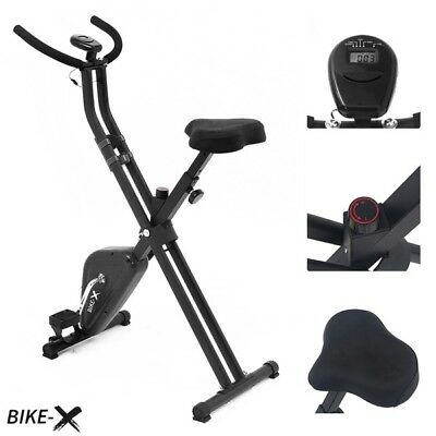 Esprit BIKE-X Foldable Exercise Bike BLACK Fitness Machine inc Warranty