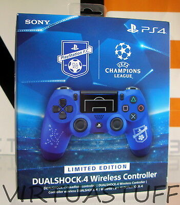 Dualshock 4 V2, Uefa, Champions League, Controller, Pad, Sony Playstation 4, Ps4
