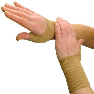 Therapy Gloves Gel Filled Thumb Hand Wrist Support Arthritis Compression Yx*j