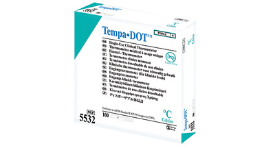 Tempa•DOT MM5532 Thermometer Pack of 100