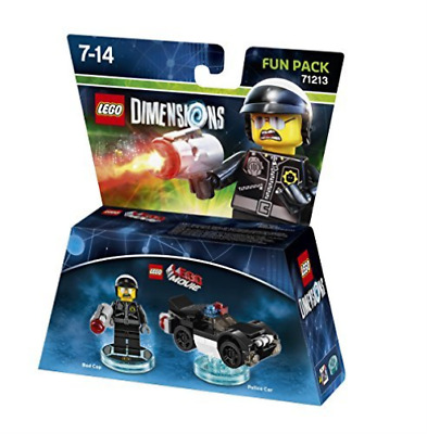 Toys-Lego Dimensions: Fun Pack - Lego Movie Bad Cop /Video Game Toy NUEVO