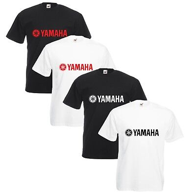 Yamaha T-Shirt Biker Motorcycle Rider Enthusiast VARIOUS SIZES & COLOURS R1 R6