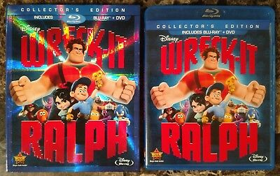 Wreck-It Ralph (Blu-ray Disc, 2013, Collector's Edition, w Slipcover) Disney