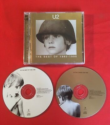 U2 The Best Of 1980-1990 Compilación 1998 Muy Buen Estado 2X Cd
