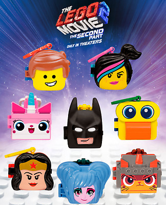 2019 McDONALD'S THE LEGO MOVIE 2 HAPPY MEAL TOYS! PICK YOUR FAVORITES!