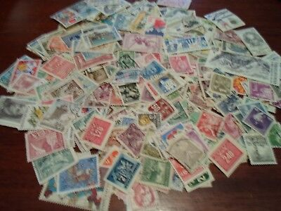 Collection lot 380 different stamps of Czechoslovakia