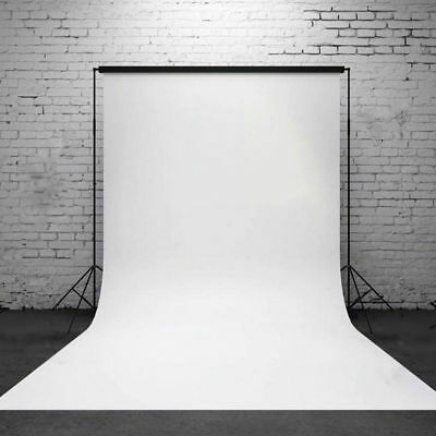 5x7ft Vinyl Pure White Wall Background Photo Photography Backdrop Studio Prop US