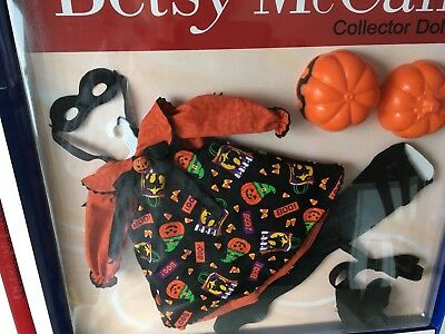 "Tonner BETSY McCALL Collection 14"" Vinyl Doll Clothes HALLOWEEN OUTFIT SET NRFB"