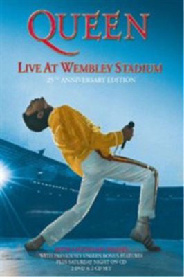 Queen: Live at Wembley Stadium 25th Anniversary Edition DVD NUOVO