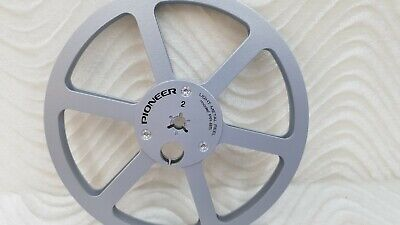 "NEW Pioneer PR-85 7"" LIGHT METAL REEL 1/4"" Tape Powder Coated Custom Made in US"
