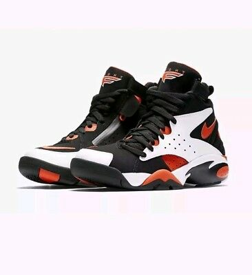 sale retailer 84bc5 c0d40 Nike Air Maestro II LTD AH8511-101 White Black Orange UK 8.5 EU 43 US