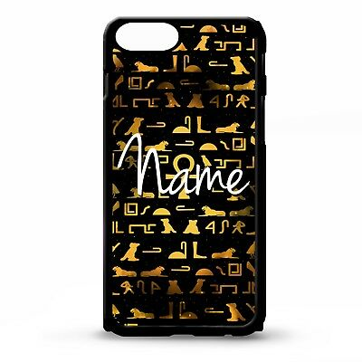 Ancient egyptian hieroglyph egypt pattern art personalised name phone case cover