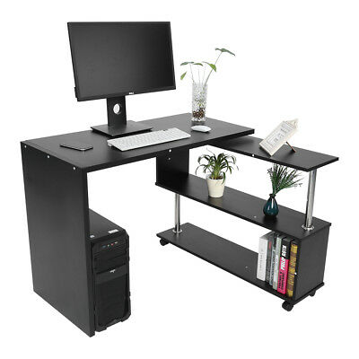 Bureau Informatique Table D Ordinateur Meuble D Angle Et Pivotant