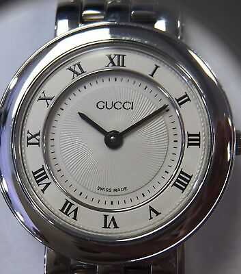 739eafd603d Authentic Gucci Ladies GUCCISSIMA Stainless Steel Swiss Made Watch 546P  Series
