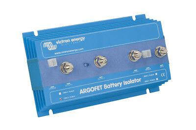 Victron Energy ArgoFET Battery Isolator 200-3 12/24 NEW 5 year warranty