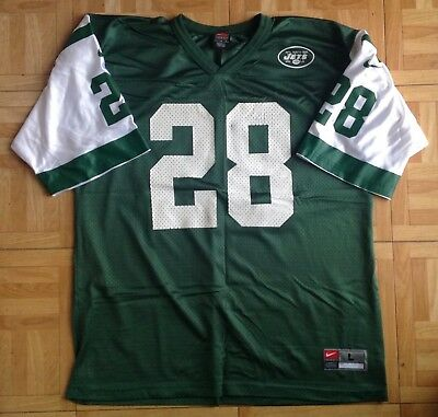ca6bcbc1218 NFL SHOP** NY Jets NIKE Curtis Martin #28 Authentic Elite Jersey sz ...