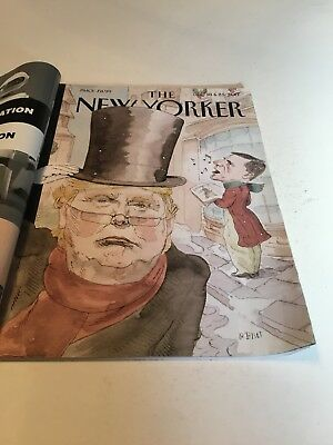 The New Yorker World Changers Dec 2017 Issue Donald Trump Cover