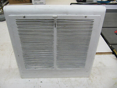 Vintage Art Deco Style Slanted Damper Wall Heat Register Grate 13 x 11