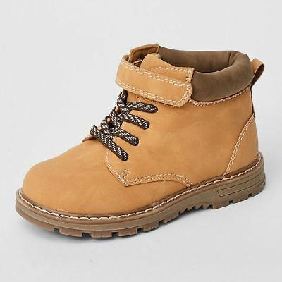 NEW Nate Junior Lace Up Ankle Boots Kids