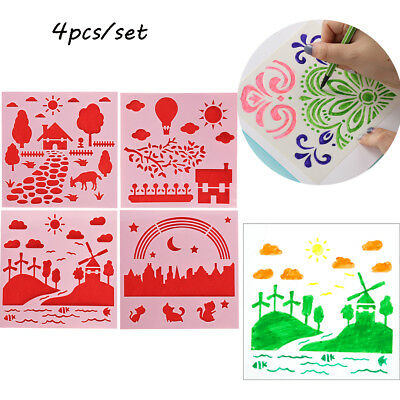 Stamp DIY Craft Layering Stencils Wall Painting Scrapbooking Embossing Template