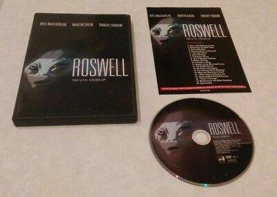 Roswell: The U.F.O. Cover-Up (DVD, 2002) Rare OOP Kyle MacLachlan Region 1 USA
