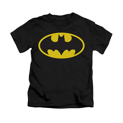 BATMAN CLASSIC LOGO Licensed Toddler & Boy Graphic Tee Shirt 2T 3T 4T 4 5-6 7