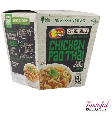 Sunrice Street Snack Pad Thai With Noodles 200g