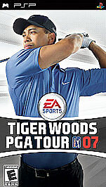 Sony PSP: Tiger Woods PGA Tour 07 - complete - with warranty - black label