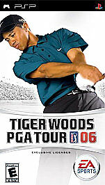 Sony PSP: Tiger Woods PGA Tour 06 - complete - with warranty - black label