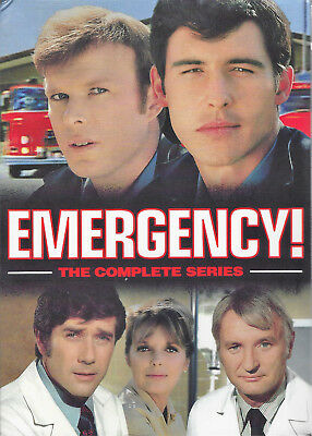 Emergency Complete TV Series + The Final Rescues (32 Dvd Box Set) Brand New