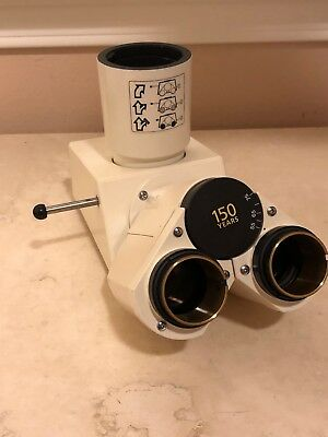 Zeiss 45 29 10 Microscope Binocular Head with Tube Lens