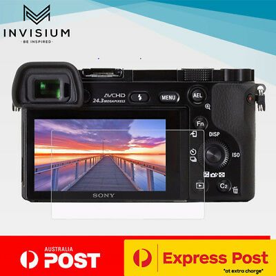 INVISIUM Tempered Glass Screen Protector Sony Alpha A6300 A6000 A5000 NEX 7 6